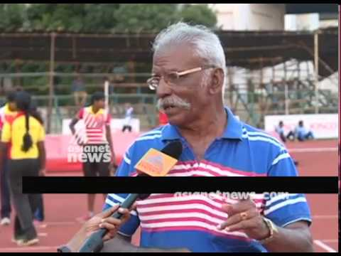 Thomas Mash sharing Kerala State School Athletic meet