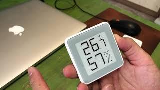 샤오미 온도 습도계 언박싱/크기 | 정확도는 모르겠지만…