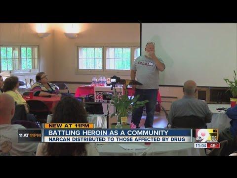 Heroin in Cincinnati: Grassroots groups share Narcan