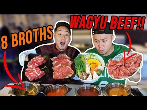 SHABU SHABU 101 - How To Eat Japanese Hot Pot // Fung Bros