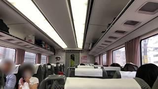 JR東海383系 A5編成 (特急ワイドビューしなの1号長野行き) ワイドビューチャイム