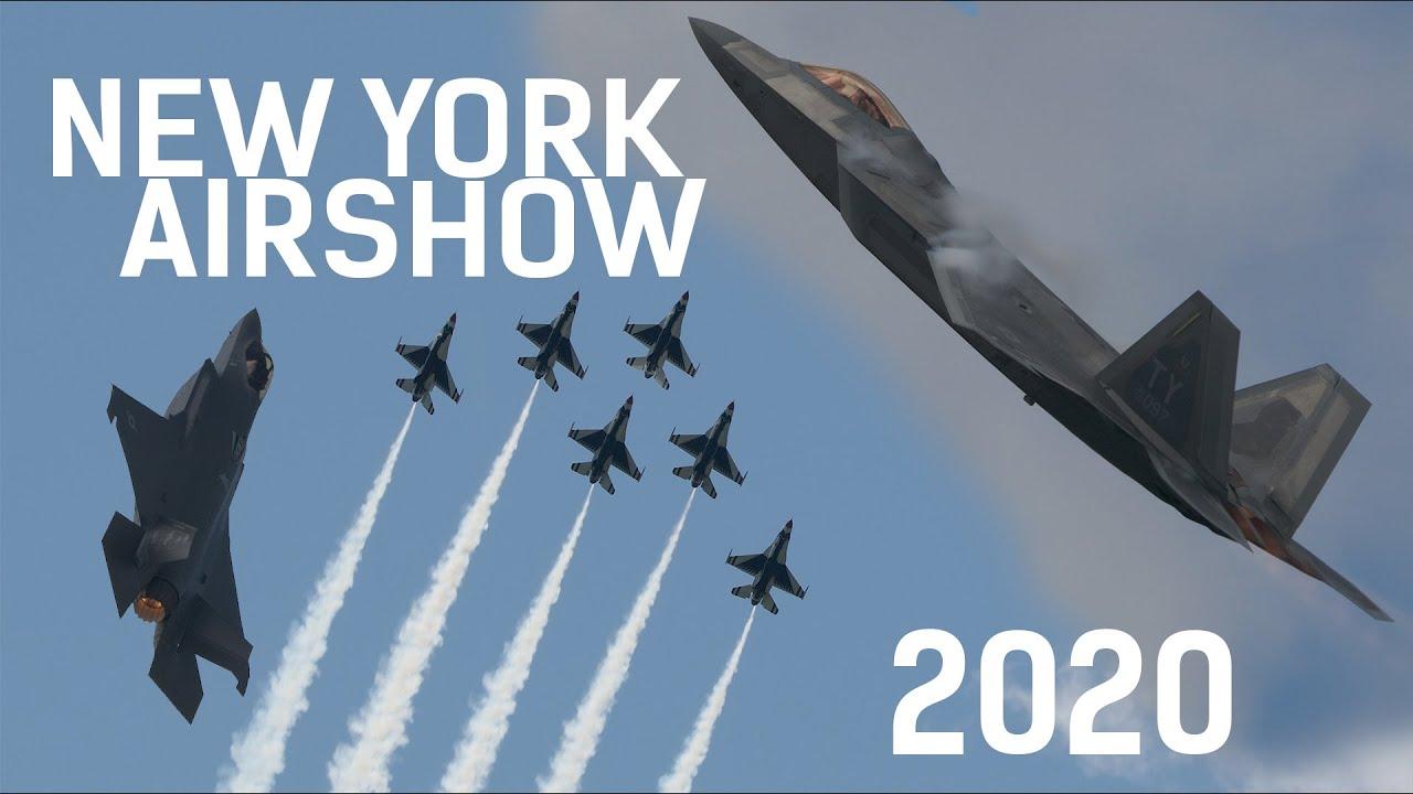 Watch Fighter Jets Scream Across the NY Sky!