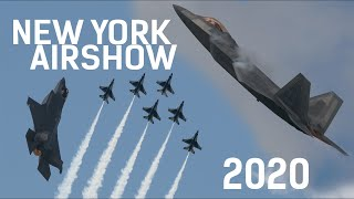 NY Air Show Highlights 2020: F-22, F-35, USAF Thunderbirds 4k