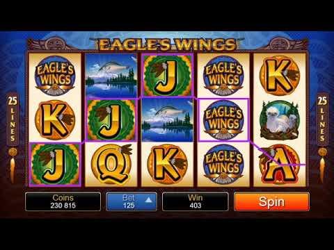 Microgaming Eagles Wings Slot Review: Big Wins, Jackpots, Bonus Rounds