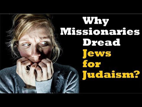 WHY MISSIONARIES DREAD JEWS FOR JUDAISM? - Reply2 One For Israel Maoz Tbn Messianic Jews For Jesus