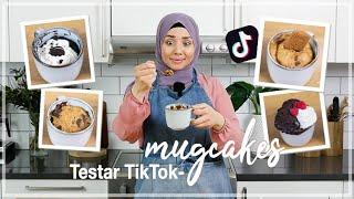 Testar virala TikTok recept - MUG CAKES! | Lär dig baka med Camilla Hamid