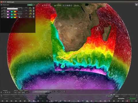 Explore remote sensing data using SEAScope