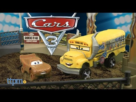 Cars 3 Smash & Crash Derby Playset from Mattel