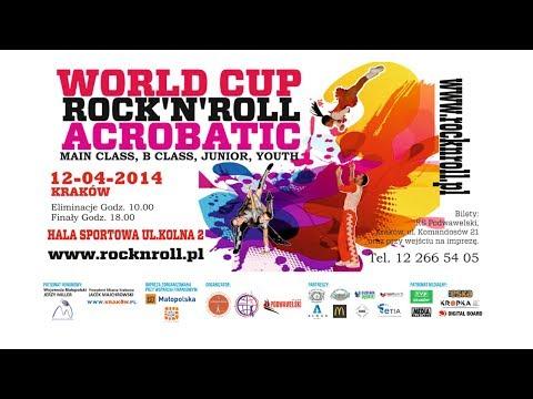 WORLD CUP ROCK'N'ROLL ACROBATIC KRAKOW 2014