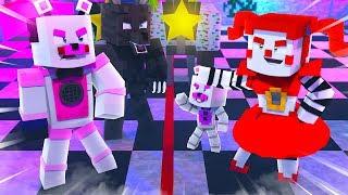CUTTING PIZZERIA IN HALF ?! | Minecraft FNAF Roleplay
