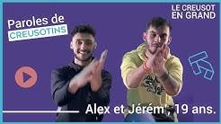 Paroles de Creusotins - Alex et Jérém', 19ans.