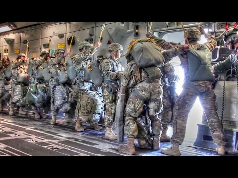 Paratroopers Jump Into Poland During Military Exercise