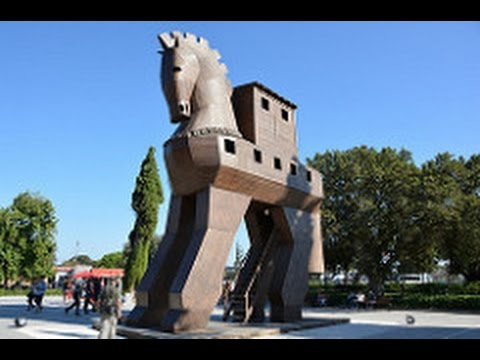 Ancient Troy Site Of Trojan Horse And Trojan War With Factsfigures