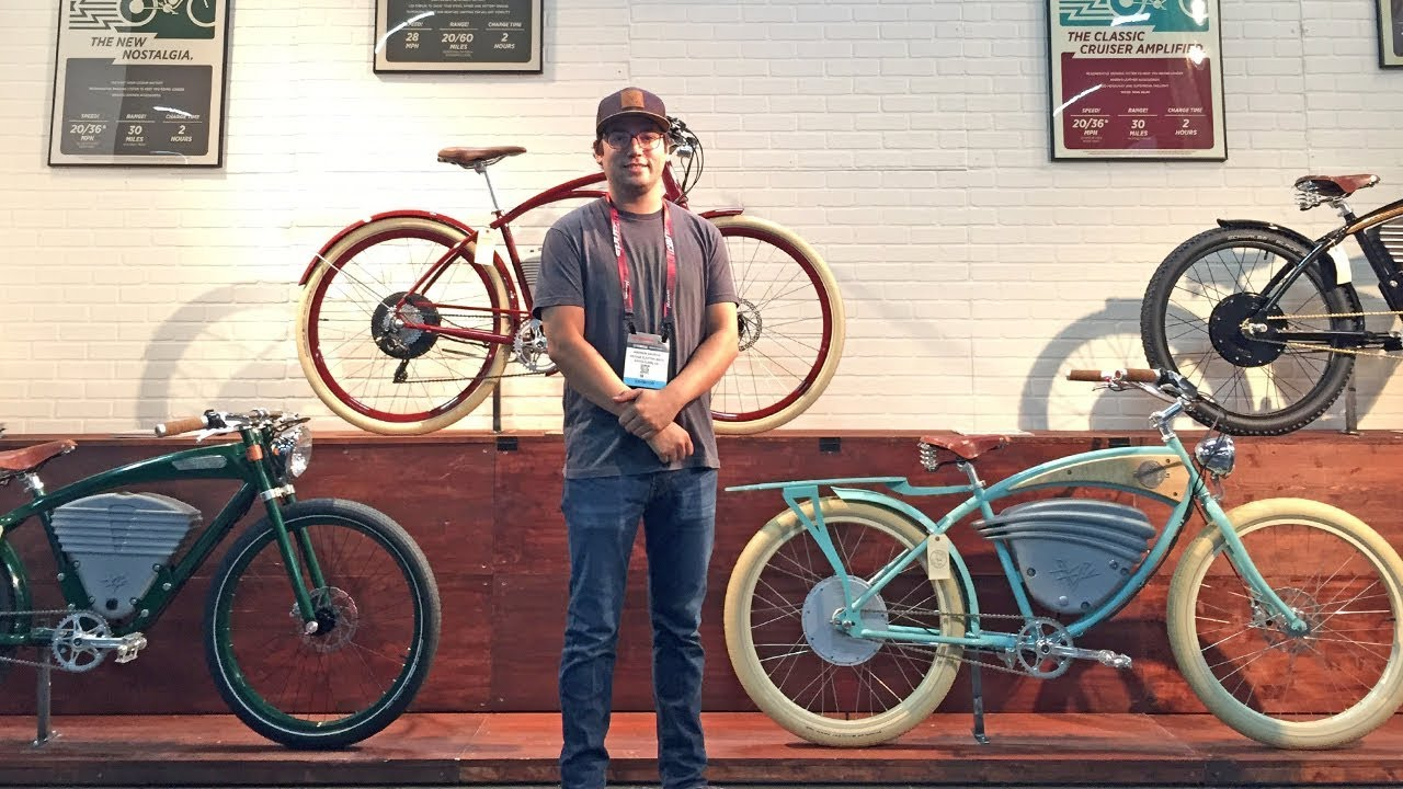 2018 Vintage Electric Bike Updates From Interbike  Cafe