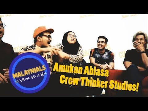 Malaynials: Amukan Ablasa Crew Thinker Studios
