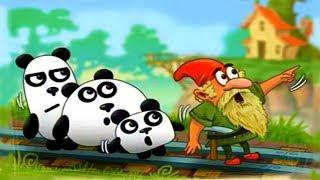 3 ПАНДЫ в Фантазии мультик игра для детей 3 Pandas In Fantasy