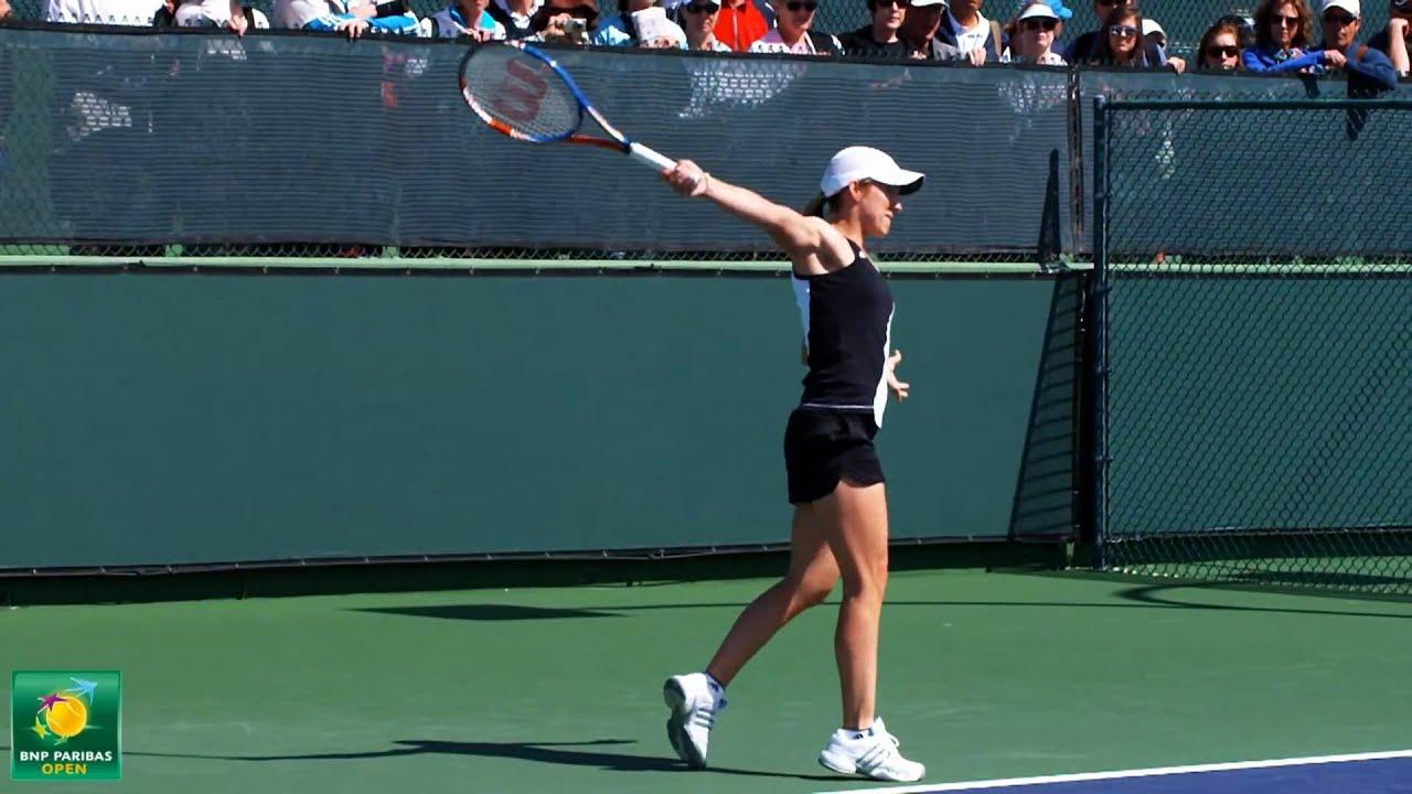 Justine Henin s Backhand