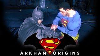 Video Batman: Arkham Origins - Batman vs Superman download MP3, 3GP, MP4, WEBM, AVI, FLV Agustus 2018