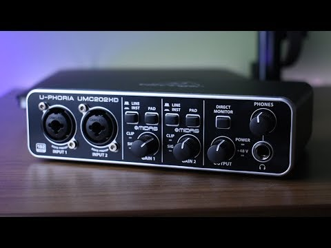 Behringer UMC202HD Review: Unparalleled features for only $100!