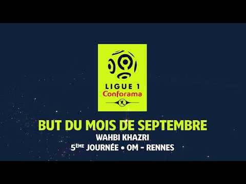 But du Mois de Septembre - Ligue 1 Conforama 2017-18