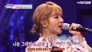 Video [AoA Italy] Kim Taewoo & Choa - Sing For U - Sub Ita download MP3, 3GP, MP4, WEBM, AVI, FLV Maret 2018