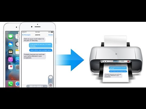 how to print text messages from iphone 5 how to print text message from iphone 6446