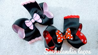 Laço Boutique com Duas Pontas – Minnie