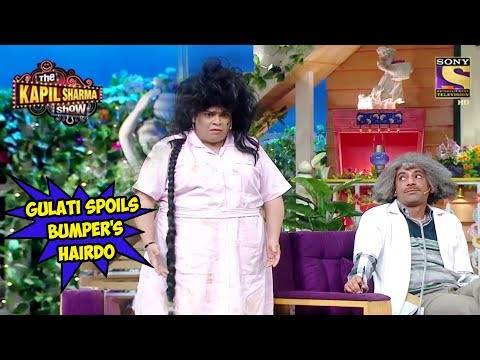 Gulati Sets Bumper's Hair On Fire - The Kapil Sharma Show