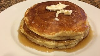 Light & Fluffy Melt in your mouth pancake recipe