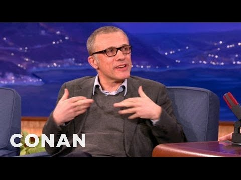Christoph Waltz Partied Hard With Quentin Tarantino After The Golden Globes - CONAN on TBS
