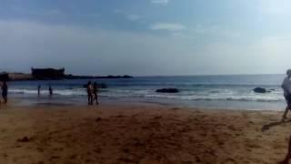 Пляж. Атлантический океан. Г. Порту.