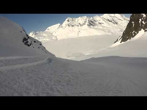 Alaska heliskiing april 2014
