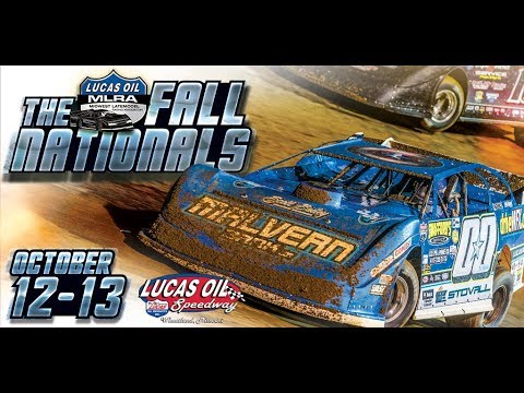 Oct. 12th-13th, 2018: Lucas Oil MLRA Fall Nationals plus B-Mod Clash of Champions