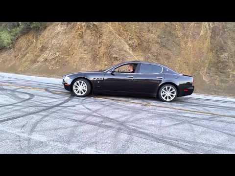 Maserati Quattroporte Acceleration