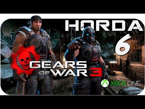 "Gears of War 3 Coop Maxismael3D | Modo Horda en ""Punto Muerto"" - Xbox One"