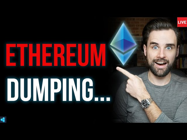 🔴LIVE: Etherem Price STILL Dropping, But There's Good News.