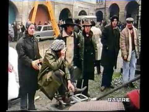 Sul Set di Novecento di Bernardo Bertolucci 1975