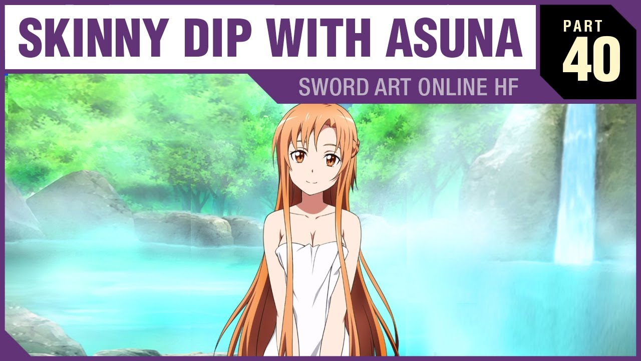 Anime Girl Skinny Dipping