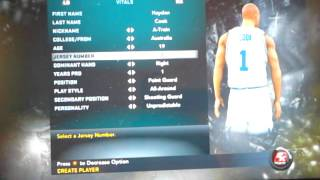 NBA 2K11 - Creating the Dream Team #1 - Let