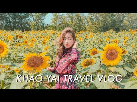 KHAO YAI TRAVEL VLOG (PART 2): SUNFLOWER FIELD, HOBBIT HOUSE, BTS, ETC!
