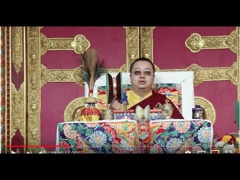H.H Dudjom Yangsi Rinpoche offering Tsok in KTM. HD