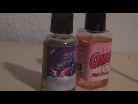 2 Ejuice from Malaysia - Berry Mix & Pink Guava - Danish/English Sub