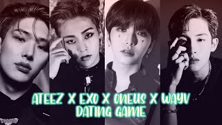ATEEZ X EXO X ONEUS X WAYV Dating Game [KPOP DATING GAME]