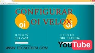Configurar Modem OI VELOX TECHNICOLOR TD5130 Adsl2+ e atualizar a firm velox