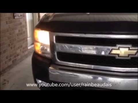 DIYG  How To Change Low Beam Bulb In 2007 Chevy Silverado N S   YouTube