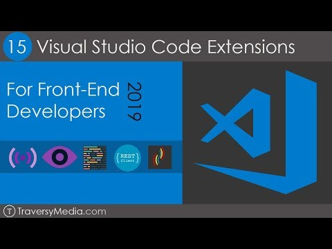 15 VS Code Extensions For Front-End Developers in 2019
