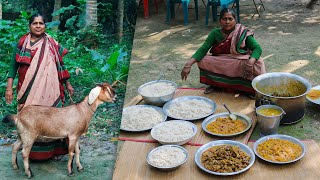 Full Goat Mutton Cooking Recipe for Zayan Birthday by Village Food Life