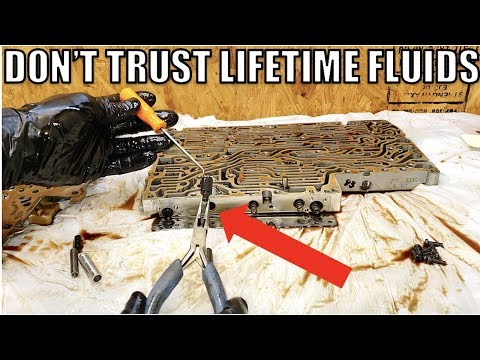 Here's Why Lifetime Transmission Fluid Is A Total Scam & How I Restored My Trans For Cheap. DIY!