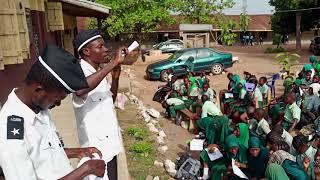 Nigerian Ahmadi Muslims in Stop Crime campaign