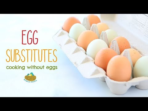 Egg Substitutes For Recipes: Which One To Use Case By Case
